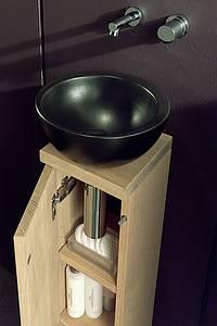 shk journal f f floor and furniture pr sentiert die serie totem im g ste bad. Black Bedroom Furniture Sets. Home Design Ideas