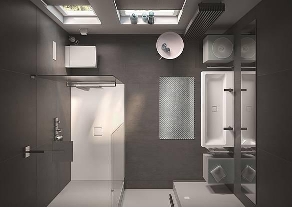 shk journal kaldewei zeigt drei clevere l sungen f r kleine badezimmer. Black Bedroom Furniture Sets. Home Design Ideas
