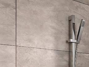 Die Trendigen Fliesen Dekore In Verschiedenen Grau  Und Beige Varianten  Wirken Aufgrund Ihres Designs In Kombination Mit Dem Hochwertigen  Strukturfinish ...
